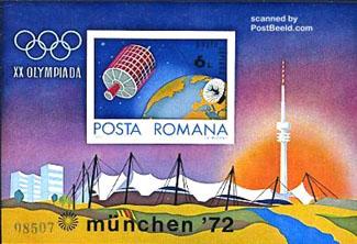 Stamp Block Olympics Munchen