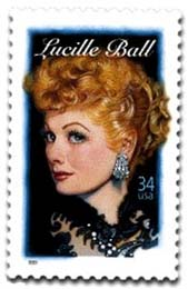 Lucile Ball stamp