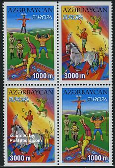 Circus, Europa theme 2002, Azerbaijan