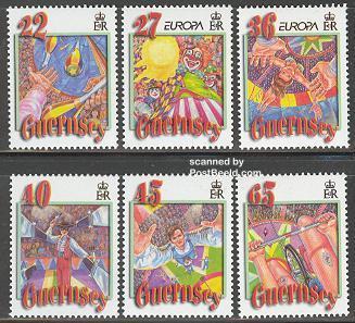 Circus, Europa theme 2002, Guernsey