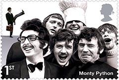 Monty python stamps