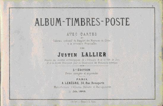 Alexandre Baillieu Stamp Album