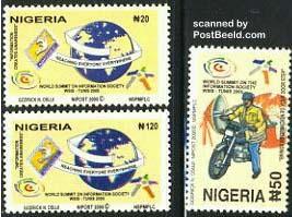 Nigeria stamps 2005