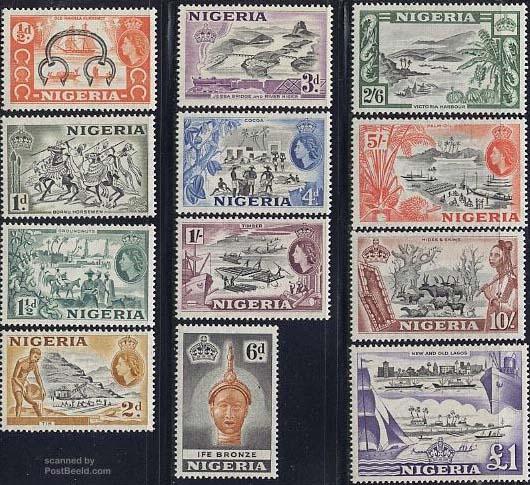 nigeria stamps