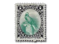 Quetzal stamp