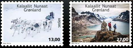 SECPAC stamps Greenland 2016