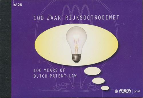 Patent booklet Netherlands