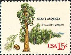 Trees of Americs stamp 1978