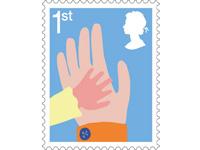 Smiler stamps