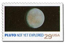 Pluto postzegel