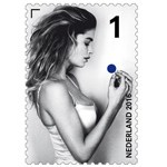 Doutzen Kroes on a stamp?