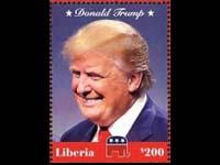 Donald Trump postage stamp