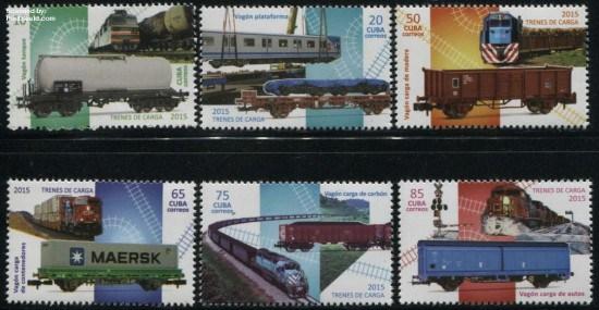 2015, Cargo Trains 6v