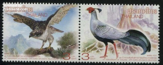 2015, Birds 2v [:], Joint Issue North Korea