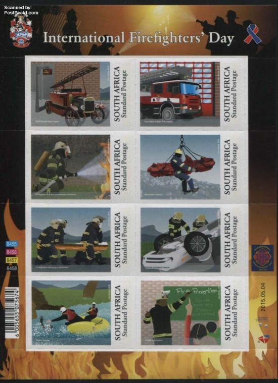 2015, International Firefighters Day 8v m/s