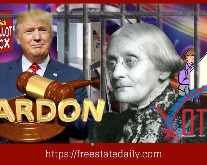 Susan B Anthony Pardon
