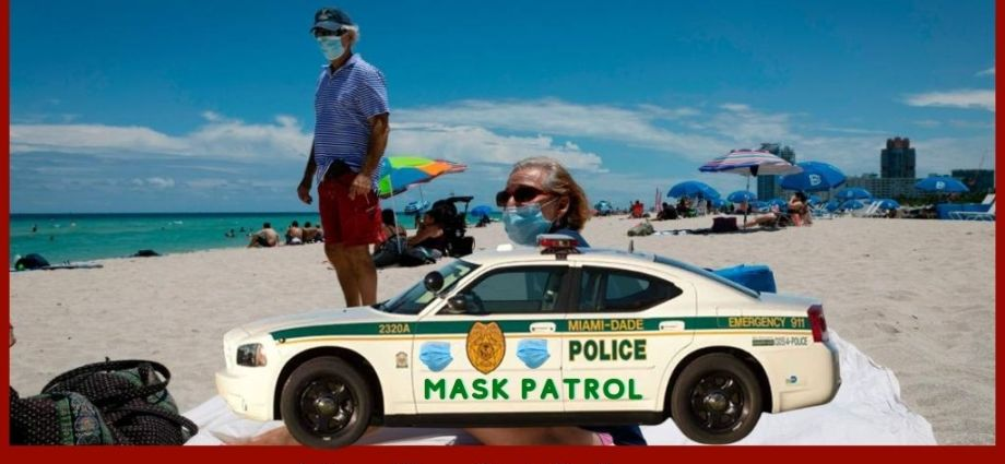 COVID Mask Divide Heats Up In Miami