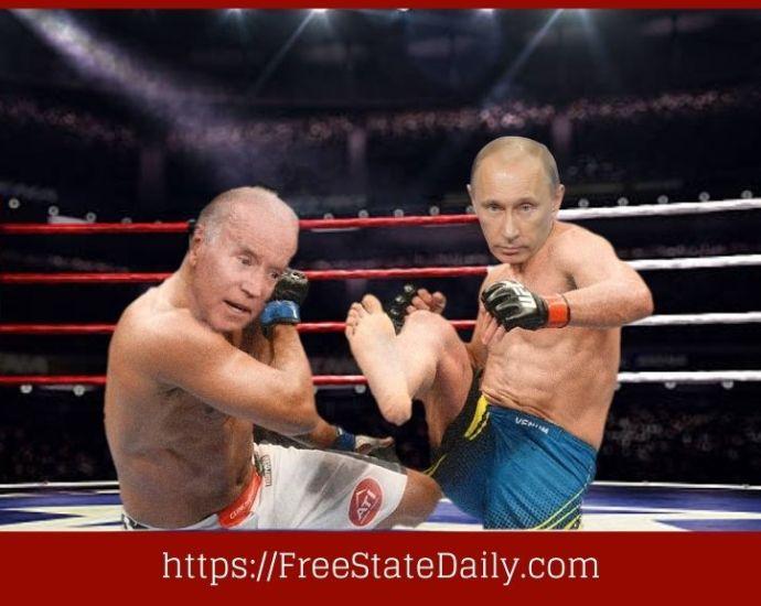 President Biden Shows Putin He's Still As Tough