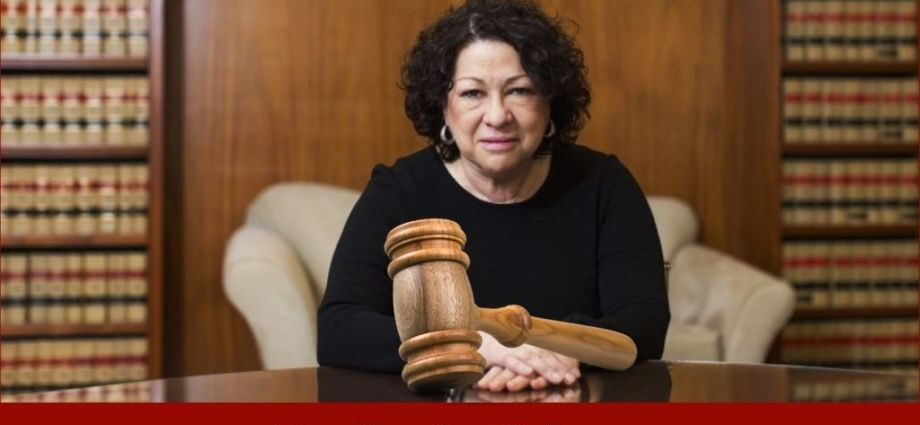Justice Sotomayor Warns Of Disappointment