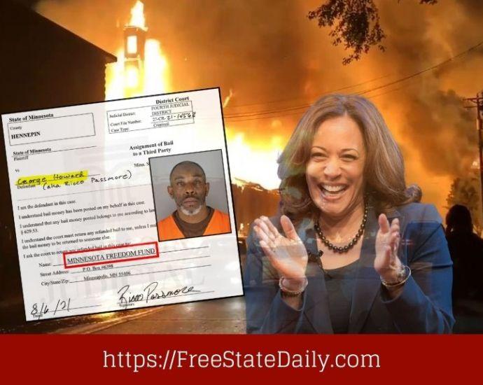 Bail Fund Supported By Kamala Harris Helped Minnesota Killer