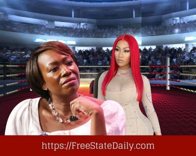 Nicki Minaj Rips Joy Reid To Shreds Over Vaccine Side Effects