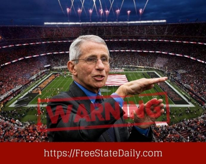 Fauci Issues New Warning To Sports Fans