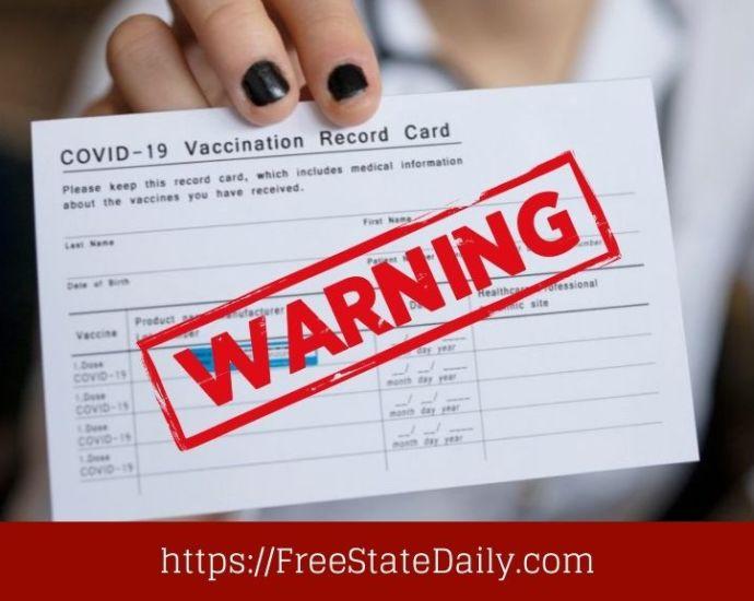 Black Market Vaccine Cards Skyrocket In Price After New Mandates