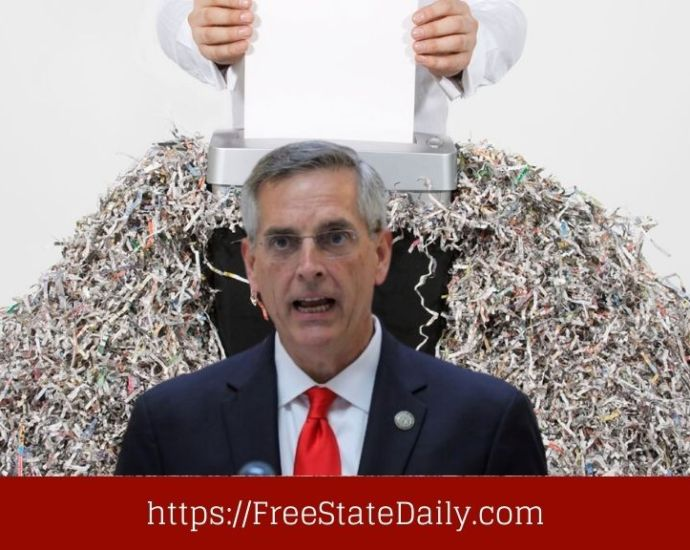 Georgia Election Officials Fired For Shredding Voter Registrations