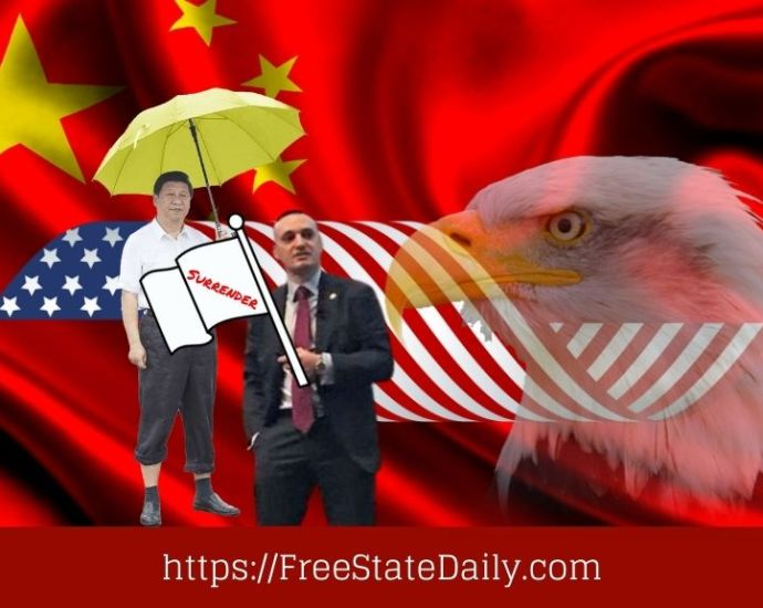 Pentagon Software Chief Surrenders To China