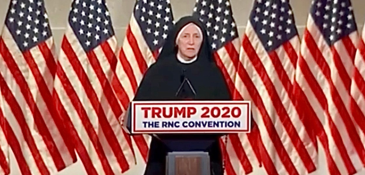 Pro-Life Nun Speaks at RNC