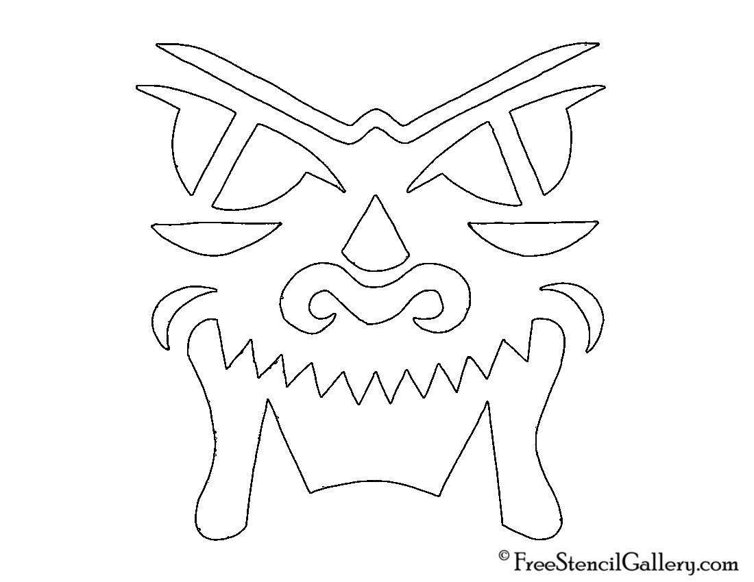Jack O Lantern Face 14