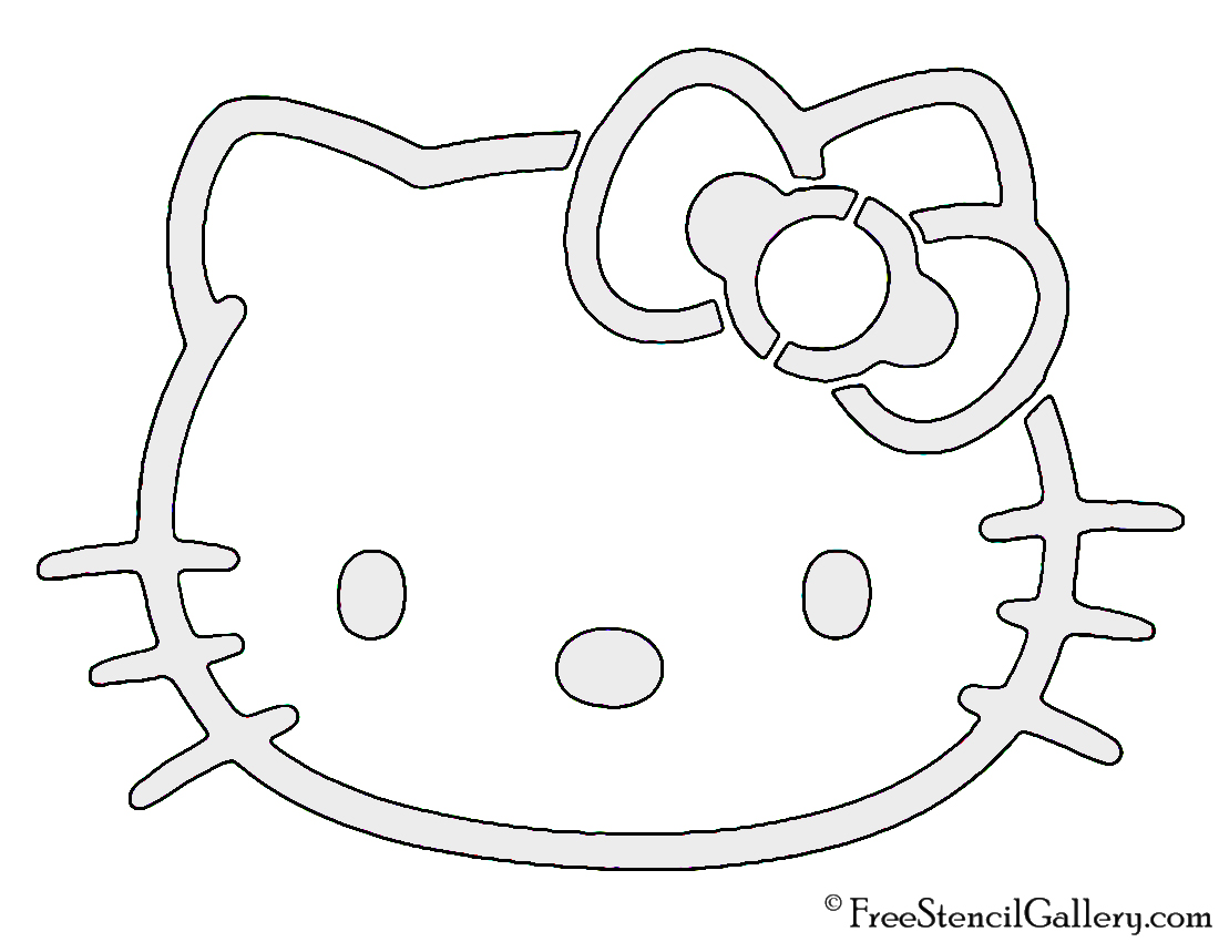 Hello Kitty Mask Printable