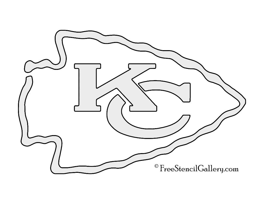 Nfl Kansas City Chiefs Stencil