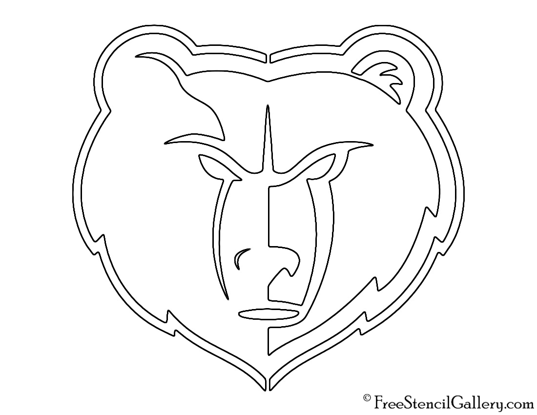 Memphis Grizzlies Coloring Pages