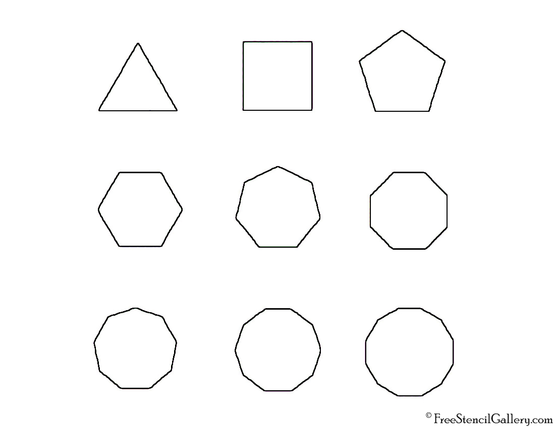 Polygon Shapes Pictures To Pin