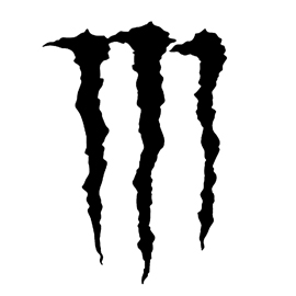 Monster Energy Drink Logo Stencil Free Stencil Gallery