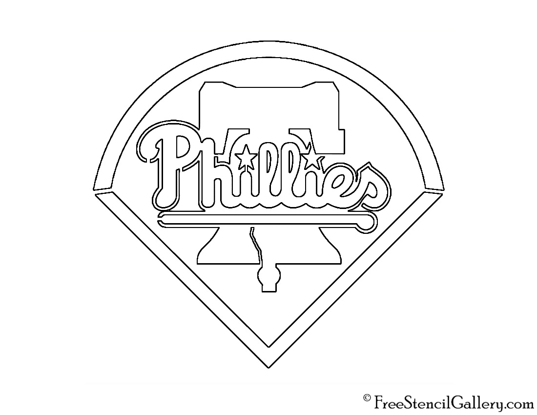 Philadelphia Phillies Coloring Pages