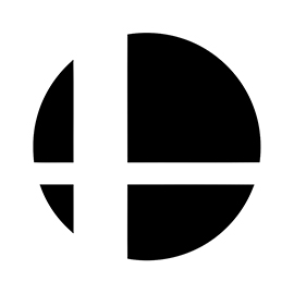 Super Smash Bros Logo Stencil Free Stencil Gallery