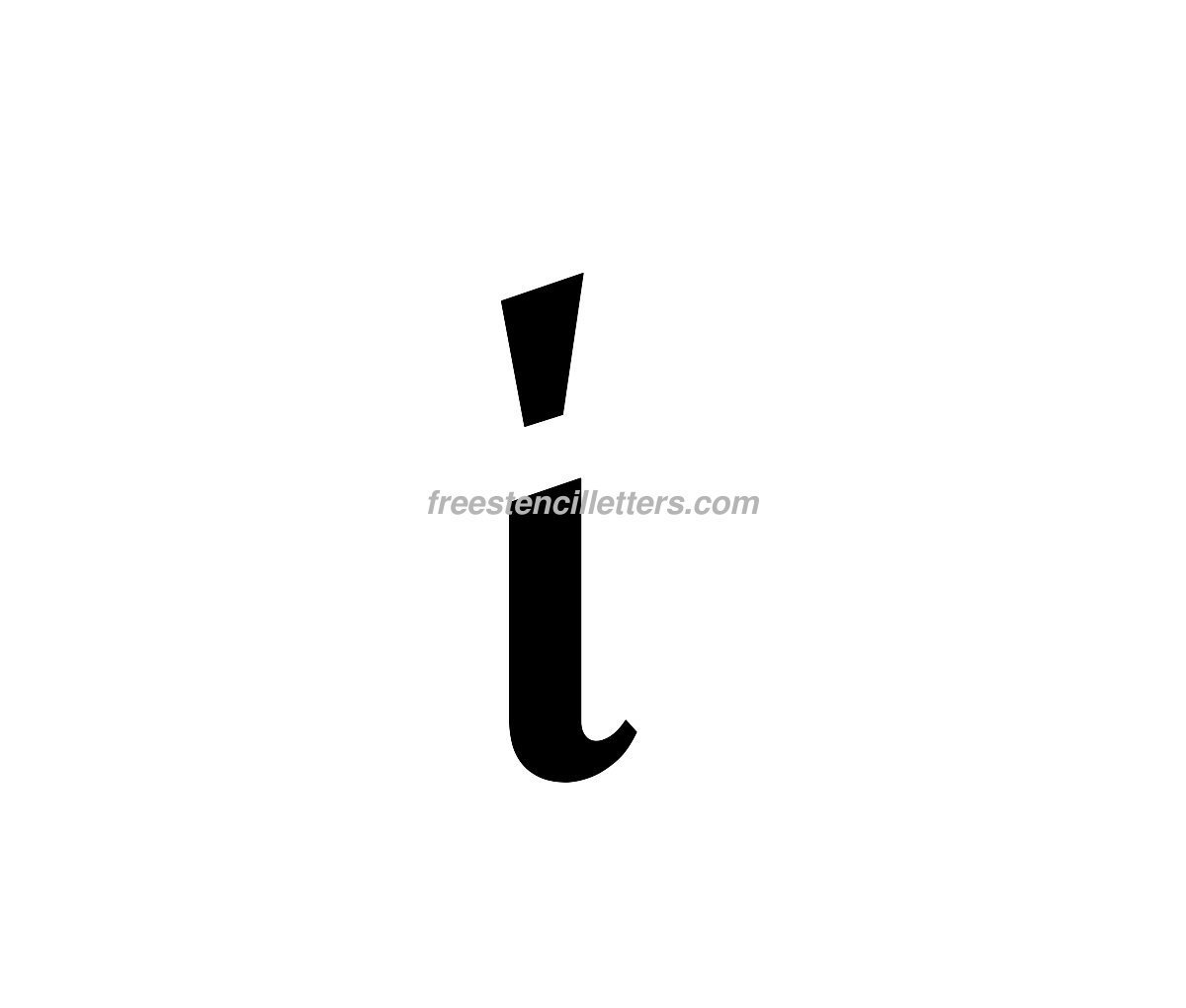 Lowercase I Gallery