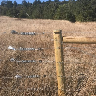 5 wire fence