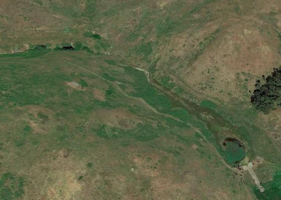 Upper sedimentation pond
