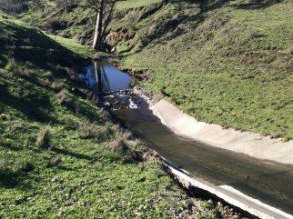 Lower spillway