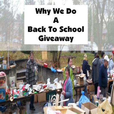Why Do A Back To School Giveaway