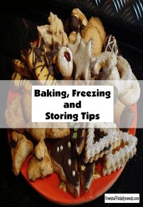 baking freezing and storing tips