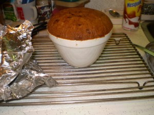 cooked figgy duff molasses pudding