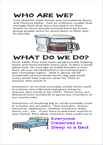 free stuff 4 daily needs brochure pg 2