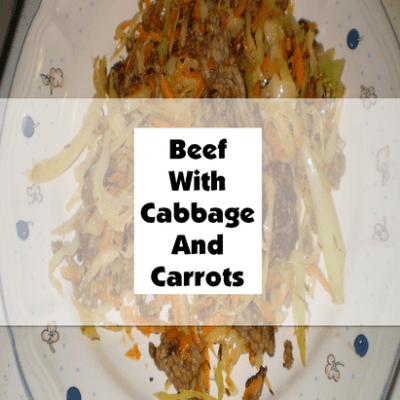 Beef With Cabbage And Carrots