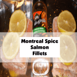 Montreal Spice Salmon Fillets