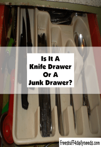 is it a knife drawer or a junk drawer