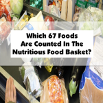 Which 67 Foods Are Counted In The Nutritious Food Basket